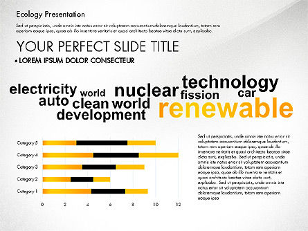 Renewable Energy Word Cloud Presentation Template, Slide 3, 03037, Presentation Templates — PoweredTemplate.com