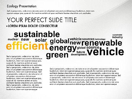 Renewable Energy Word Cloud Presentation Template, Slide 5, 03037, Presentation Templates — PoweredTemplate.com