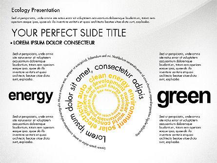Renewable Energy Word Cloud Presentation Template, Slide 6, 03037, Presentation Templates — PoweredTemplate.com