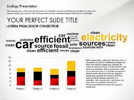 Renewable Energy Word Cloud Presentation Template, Slide 7, 03037, Presentation Templates — PoweredTemplate.com