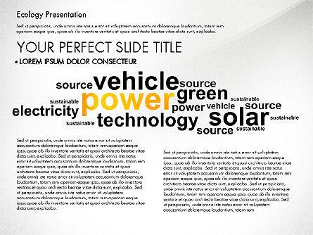 Renewable Energy Word Cloud Presentation Template, Slide 8, 03037, Presentation Templates — PoweredTemplate.com