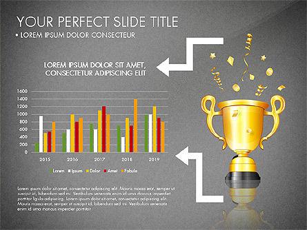 Winning Strategy Process, Slide 10, 03038, Process Diagrams — PoweredTemplate.com