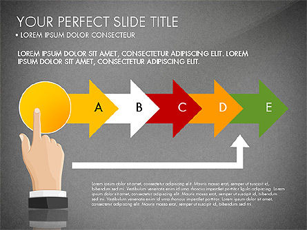 Winning Strategy Process, Slide 11, 03038, Process Diagrams — PoweredTemplate.com