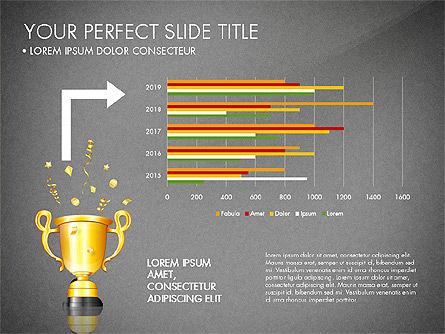 Winning Strategy Process, Slide 14, 03038, Process Diagrams — PoweredTemplate.com