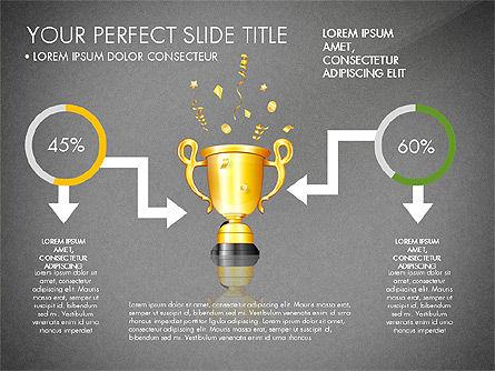 Winning Strategy Process, Slide 16, 03038, Process Diagrams — PoweredTemplate.com
