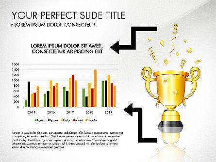 Winning Strategy Process, Slide 2, 03038, Process Diagrams — PoweredTemplate.com
