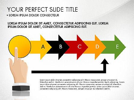 Winning Strategy Process, Slide 3, 03038, Process Diagrams — PoweredTemplate.com