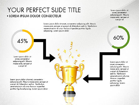 Winning Strategy Process, Slide 4, 03038, Process Diagrams — PoweredTemplate.com