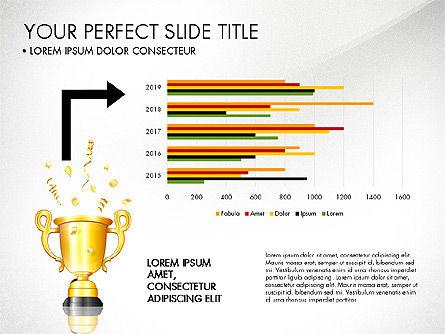 Winning Strategy Process, Slide 6, 03038, Process Diagrams — PoweredTemplate.com