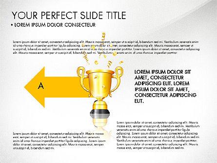 Winning Strategy Process, Slide 7, 03038, Process Diagrams — PoweredTemplate.com