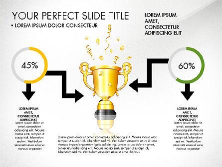 Winning Strategy Process, Slide 8, 03038, Process Diagrams — PoweredTemplate.com