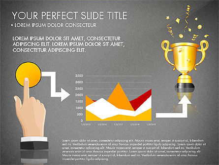 Winning Strategy Process, Slide 9, 03038, Process Diagrams — PoweredTemplate.com
