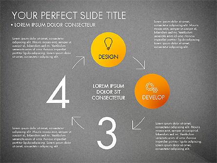 Project Management Process Concept, Slide 10, 03039, Business Models — PoweredTemplate.com