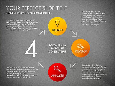 Project Management Process Concept, Slide 11, 03039, Business Models — PoweredTemplate.com