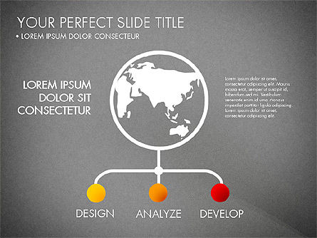 Project Management Process Concept, Slide 13, 03039, Business Models — PoweredTemplate.com
