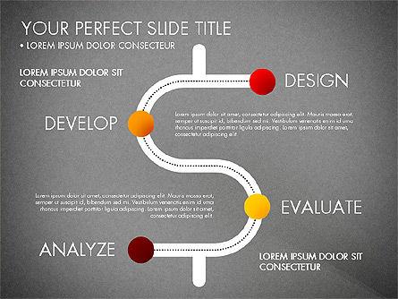 Project Management Process Concept, Slide 14, 03039, Business Models — PoweredTemplate.com