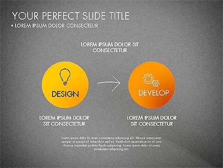 Project Management Process Concept, Slide 15, 03039, Business Models — PoweredTemplate.com
