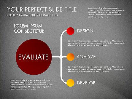 Project Management Process Concept, Slide 16, 03039, Business Models — PoweredTemplate.com