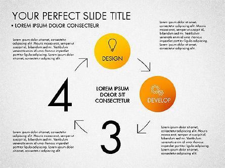 Project Management Process Concept, Slide 2, 03039, Business Models — PoweredTemplate.com
