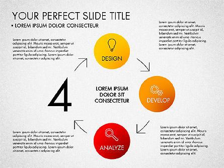 Project Management Process Concept, Slide 3, 03039, Business Models — PoweredTemplate.com