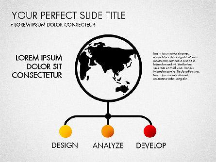 Project Management Process Concept, Slide 5, 03039, Business Models — PoweredTemplate.com
