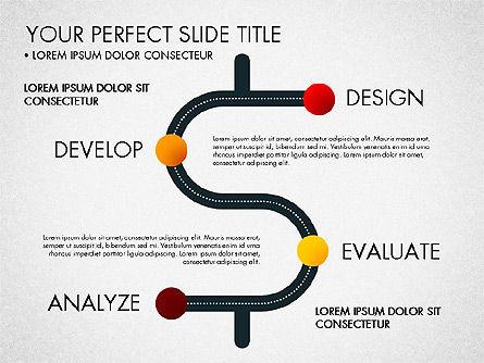 Project Management Process Concept, Slide 6, 03039, Business Models — PoweredTemplate.com
