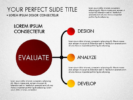 Project Management Process Concept, Slide 8, 03039, Business Models — PoweredTemplate.com