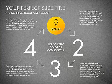 Project Management Process Concept, Slide 9, 03039, Business Models — PoweredTemplate.com