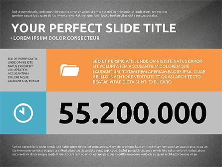 Flat Design Infographics Presentation, Slide 10, 03040, Infographics — PoweredTemplate.com