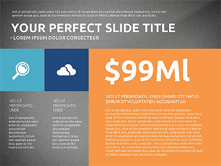 Flat Design Infographics Presentation, Slide 11, 03040, Infographics — PoweredTemplate.com