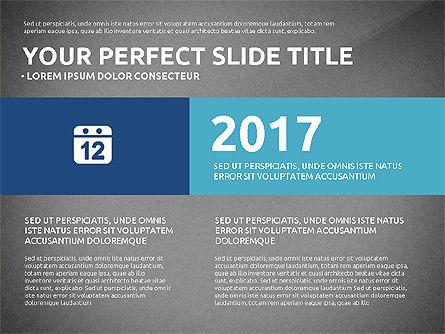 Flat Design Infographics Presentation, Slide 13, 03040, Infographics — PoweredTemplate.com