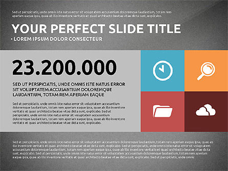 Flat Design Infographics Presentation, Slide 14, 03040, Infographics — PoweredTemplate.com