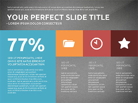 Flat Design Infographics Presentation, Slide 15, 03040, Infographics — PoweredTemplate.com