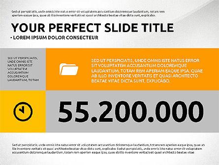 Flat Design Infographics Presentation, Slide 2, 03040, Infographics — PoweredTemplate.com