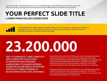 Flat Design Infographics Presentation, Slide 4, 03040, Infographics — PoweredTemplate.com