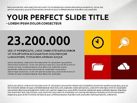 Flat Design Infographics Presentation, Slide 6, 03040, Infographics — PoweredTemplate.com