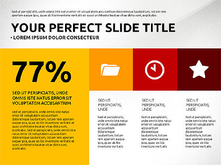 Flat Design Infographics Presentation, Slide 7, 03040, Infographics — PoweredTemplate.com