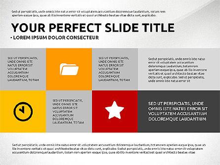 Flat Design Infographics Presentation, Slide 8, 03040, Infographics — PoweredTemplate.com