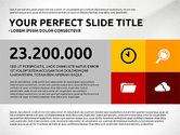 Flat Design Infographics Presentation#6
