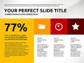 Flat Design Infographics Presentation#7