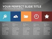 Flat Design Infographics Presentation#9