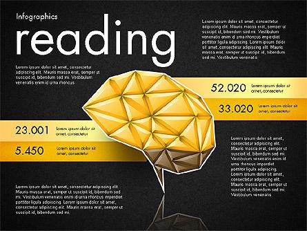 Data Driven Report with Polygonal Brain, Slide 15, 03041, Presentation Templates — PoweredTemplate.com