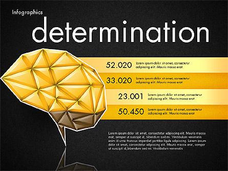 Data Driven Report with Polygonal Brain, Slide 16, 03041, Presentation Templates — PoweredTemplate.com