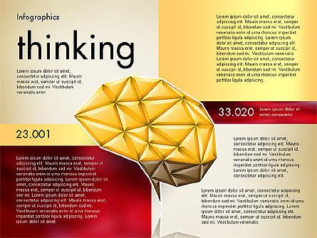 Data Driven Report with Polygonal Brain, Slide 5, 03041, Presentation Templates — PoweredTemplate.com