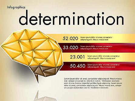 Data Driven Report with Polygonal Brain, Slide 8, 03041, Presentation Templates — PoweredTemplate.com