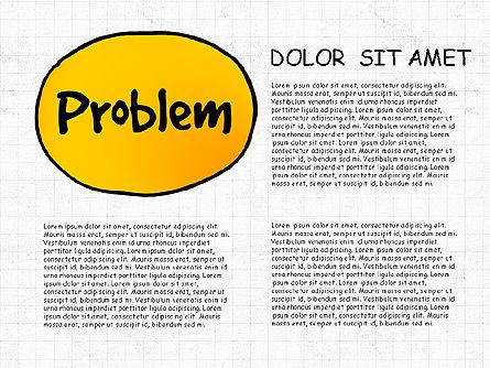 Problem Solution Process Diagram, Slide 3, 03042, Process Diagrams — PoweredTemplate.com