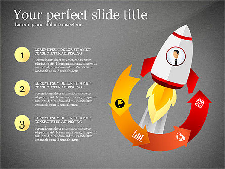 Launching a Business Presentation Template, Slide 10, 03043, Presentation Templates — PoweredTemplate.com