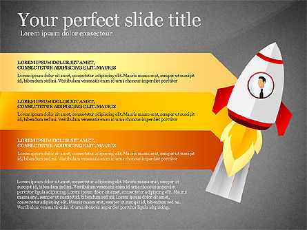 Launching a Business Presentation Template, Slide 13, 03043, Presentation Templates — PoweredTemplate.com