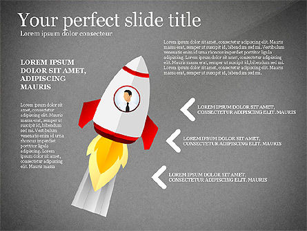 Launching a Business Presentation Template, Slide 14, 03043, Presentation Templates — PoweredTemplate.com