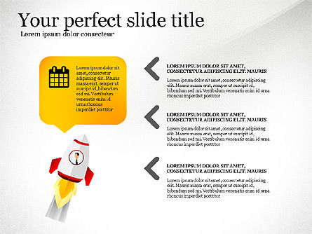 Launching a Business Presentation Template, Slide 3, 03043, Presentation Templates — PoweredTemplate.com